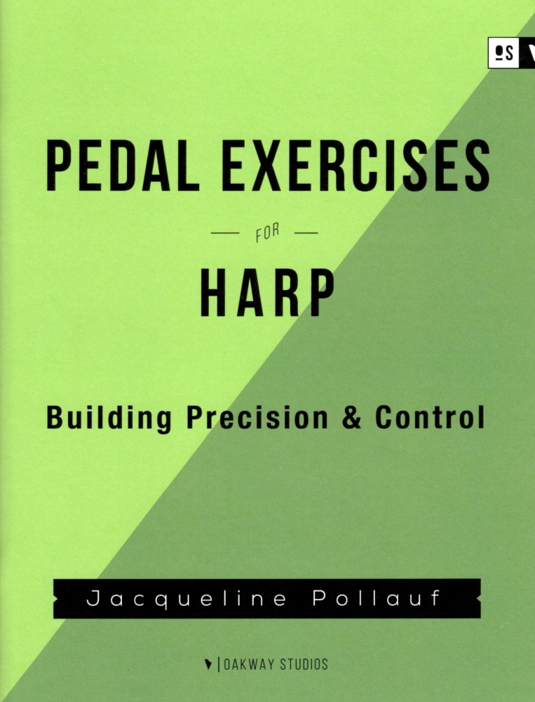 Pedal Exercises for Harp - Jacqueline Pollauf