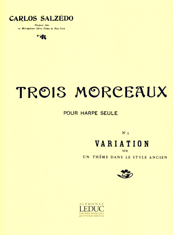 Variations Sur Un Theme Dans Le Style Ancien Op.30 - Salzedo