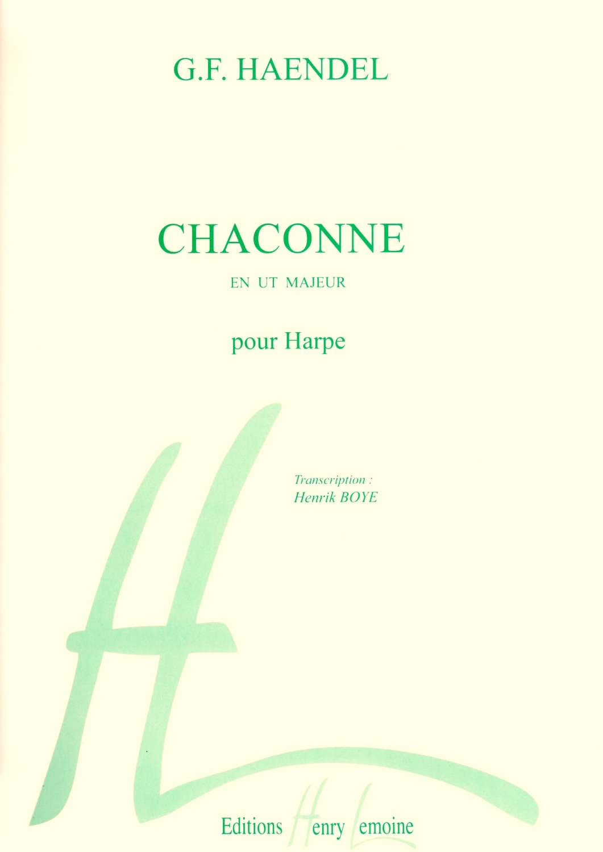 Chaconne en ut Majeur - G.F. Haendel