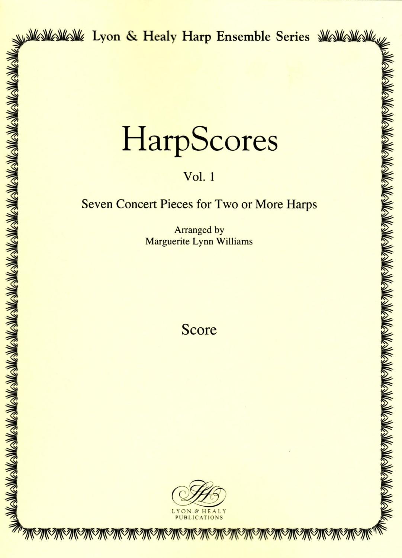 Harp Scores Vol. 1 - Arranged by Marguerite Lynn Williams