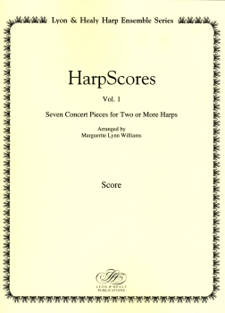 Harp Scores Vol. 1 - Arranged by Marguerite Lynn Williams