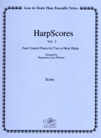 Harp Scores Vol. 2 - Arranged by Marguerite Lynn Williams