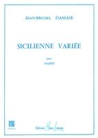 Sicilienne Variee - Jean-Michel Damase