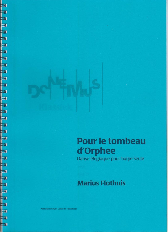 Pour le tombeau d'Orphée - danse élégiaque pour harpe seule  - Marius Floth