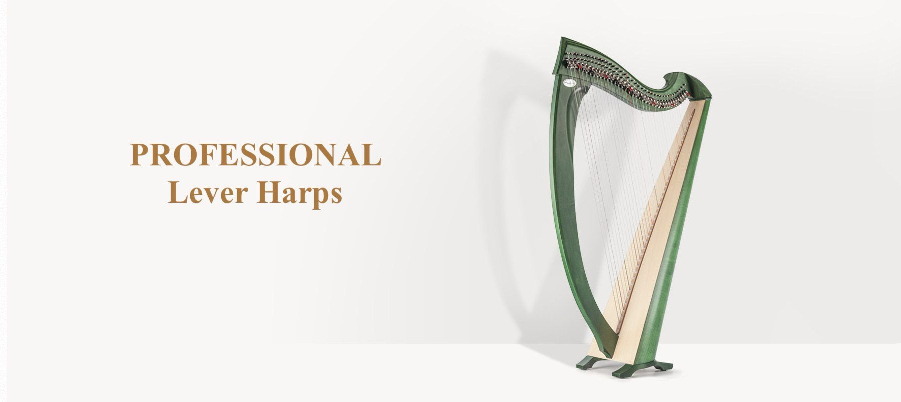 Professional Lever Harps