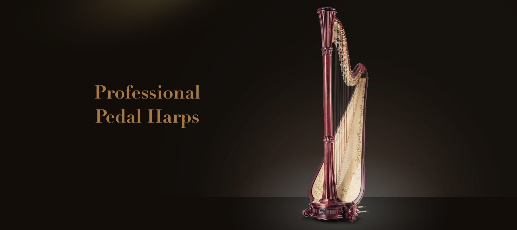 Professional Pedal Harps