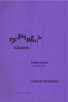 Intermezzo for Flute & Harp (1950) - Hendrick Andriessen