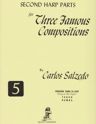 Second Harp Part for Three Famous Compositions - Carlos Salzedo