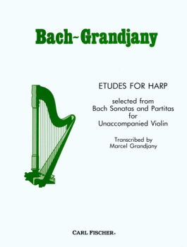 Etudes for Harp - Bach/Grandjany