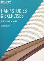 Harp Studies & Exercises: Initial-Grade 8