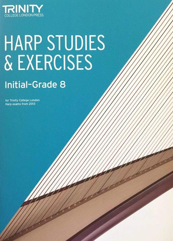 Harp Studies & Exercises: Initial-Grade 8 **New Cover**