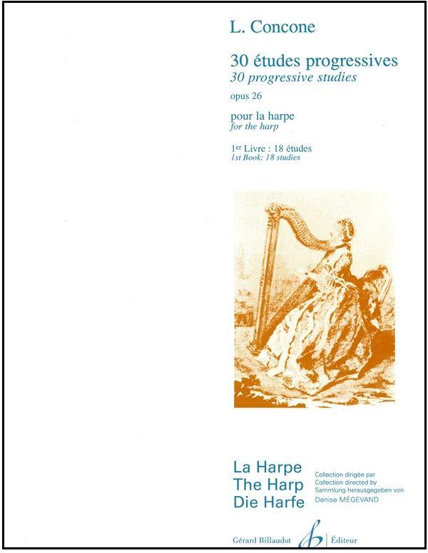 30 Etudes Progressives Book 1 - L. Concone