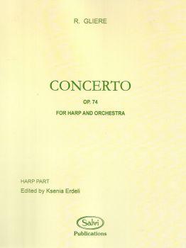 Concerto Op.74 - For Harp & Orchestra - R. Gliere