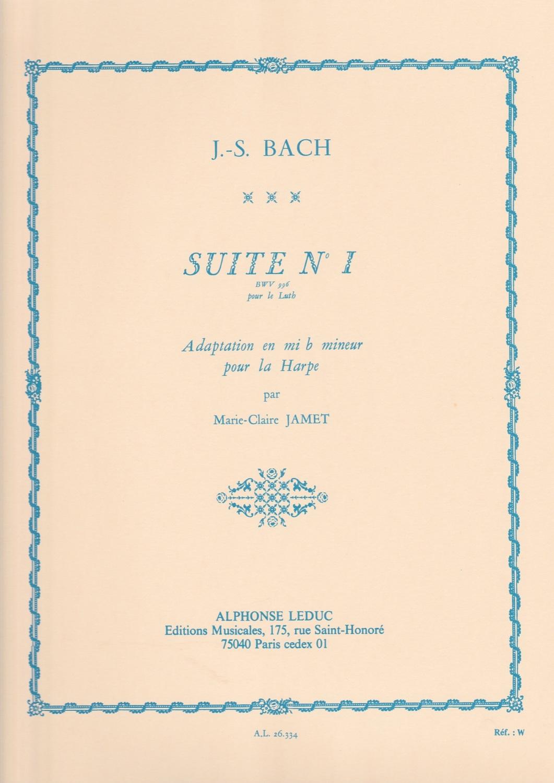 Bach, J.S - Suite No.1 BWV 996 - Marie-Claire Jamet