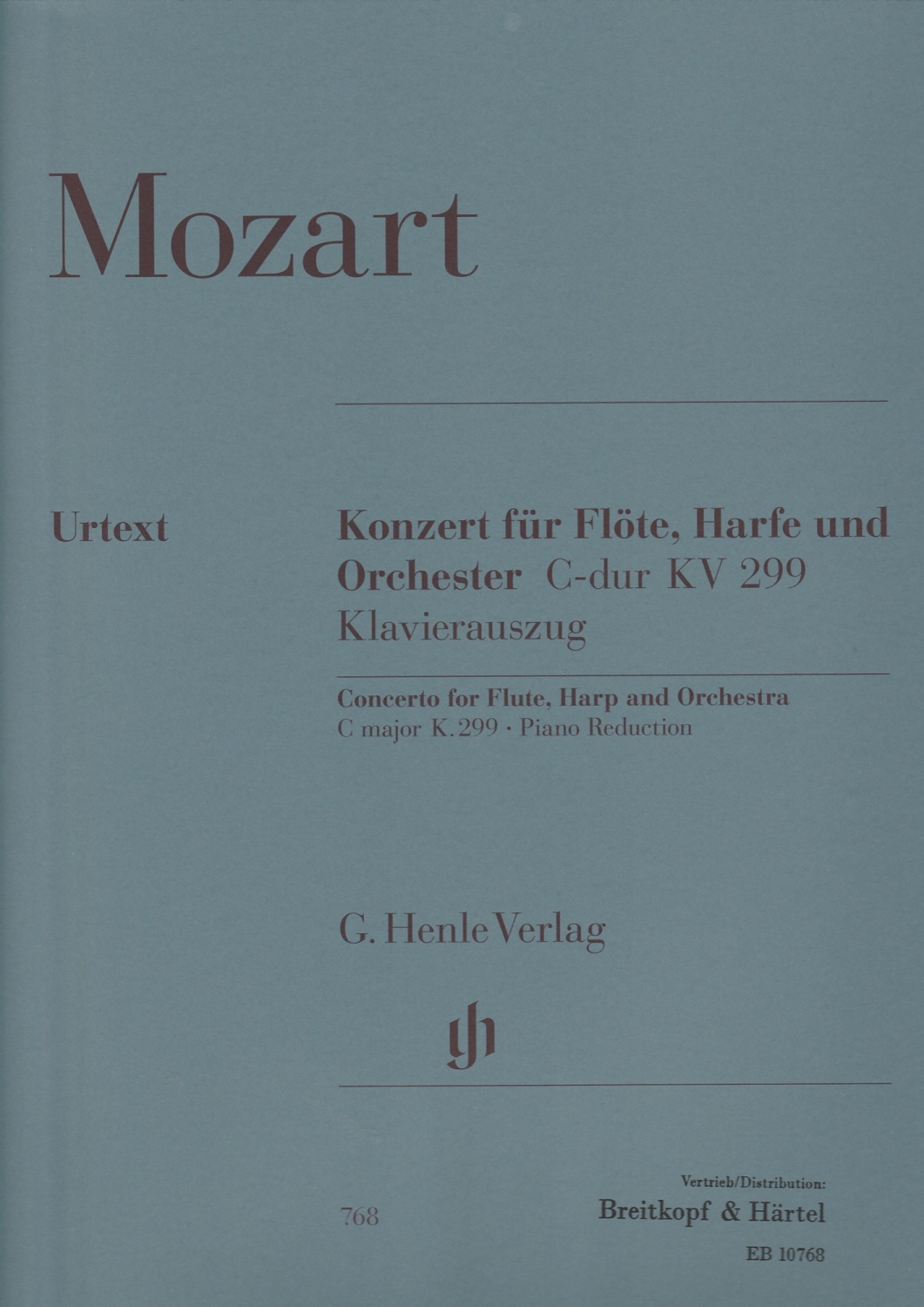 Concerto for Flute, Harp & Orchestra C Major KV299 - Mozart