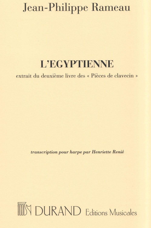 L'Egyptienne - Jean-Philippe Rameau