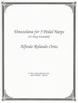 Venezolana for 5 Pedal Harps - Alfredo Rolandi Ortiz