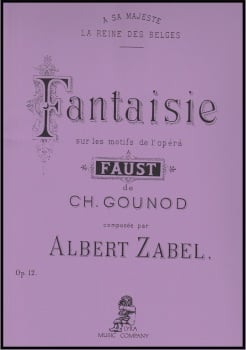 Fantaisie sur les motifs de l'opera Faust  - Gounod