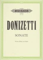 Sonate - Violine (Flote) und Harfe - Donizetti