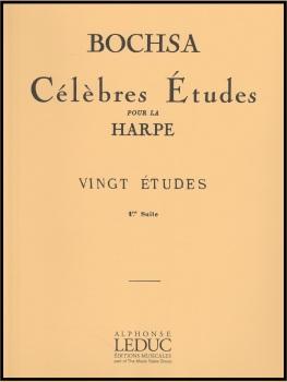 Celebres Etudes pour la Harpe Vingt Etudes Suite 1 - Bochsa