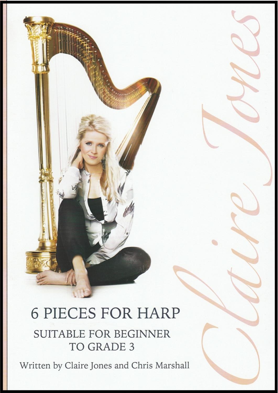 6 Pieces for Harp - Claire Jones