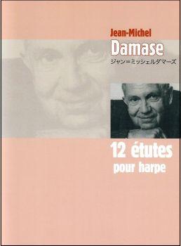 12 Etudes Por Harpe - Jean-Michel Damase
