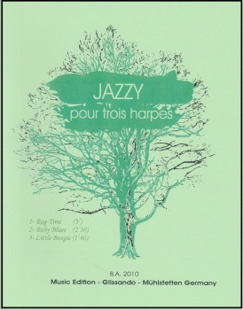 Jazzy - Pour Trois Harpes - Bernard Andres