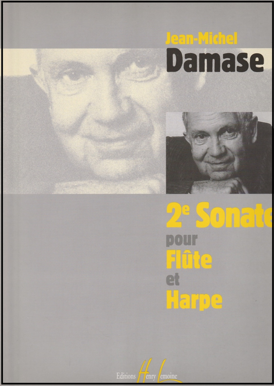 Sonate No. 2 Pour Flute et Harpe - Jean-Michel Damase