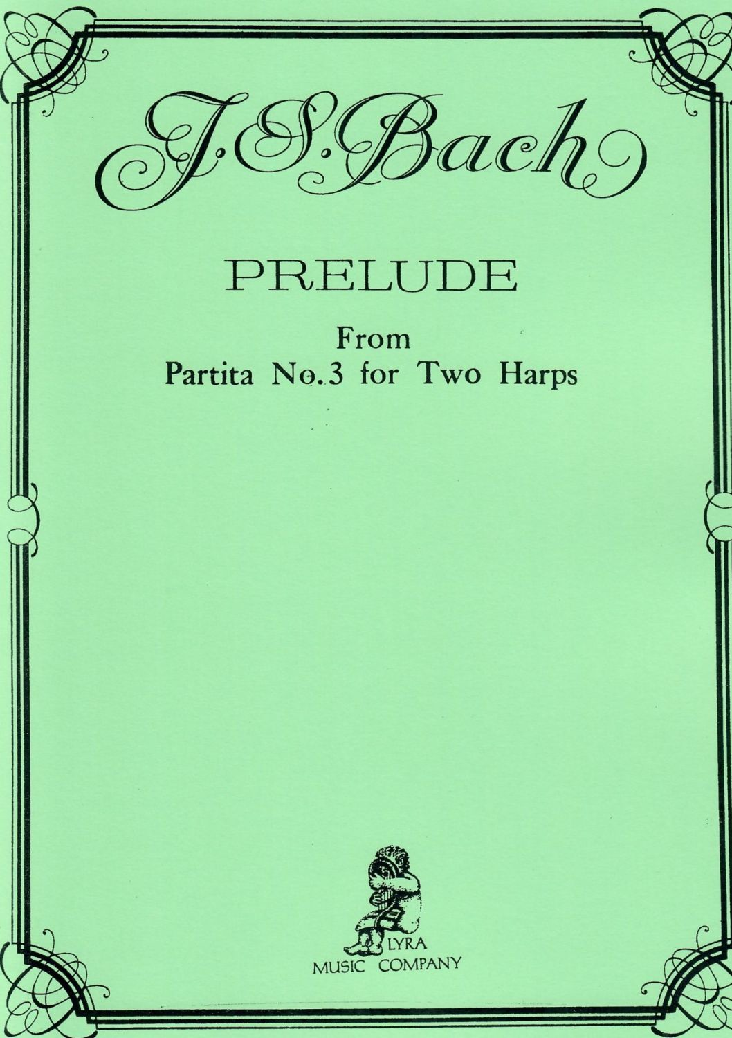 J.S. Bach - Prelude from Partita No. 3 for Two Harps