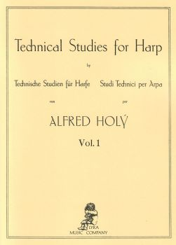 Technical Studies for Harp Vol. 1 by Alfred Holy