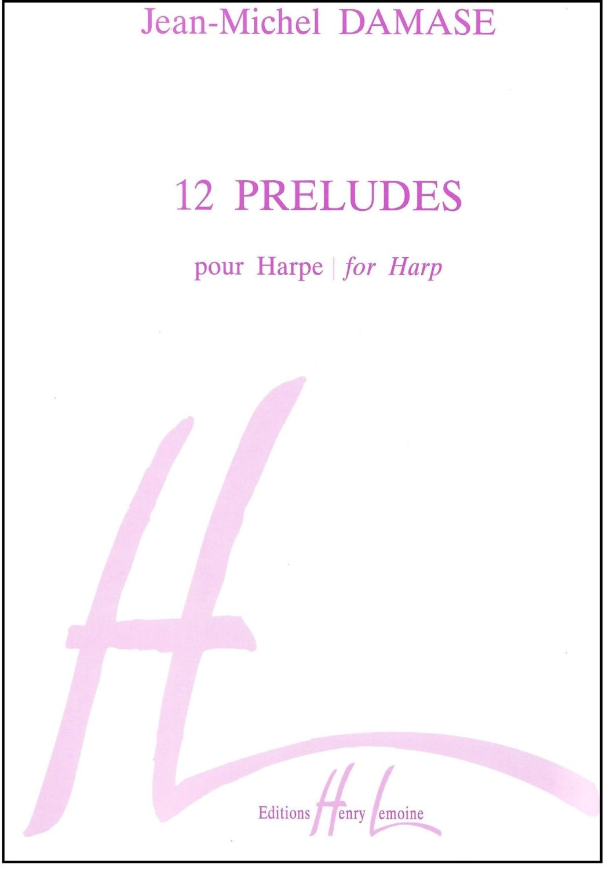 12 Preludes for Harp - Jean-Michel Damase