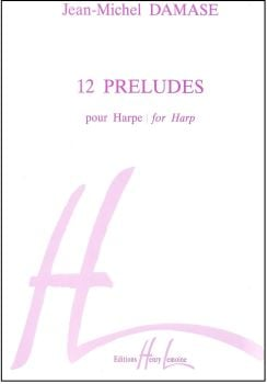 12 Preludes for Harp - Jean-Michel Damase