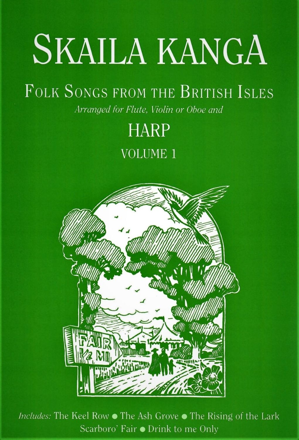 Folk Songs from the British Isles - Skaila Kanga