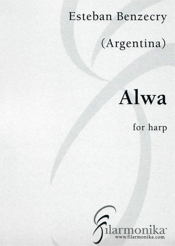 Alwa - for solo harp by Esteban Benzecry