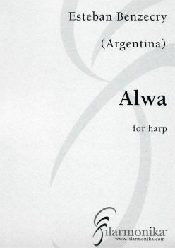 Alwa - for solo harp by Esteban Benzecry