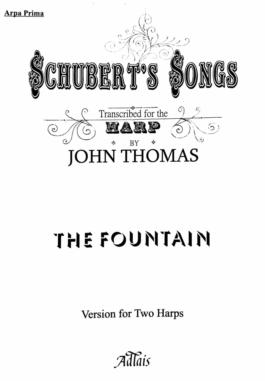 Schubert's Songs - The Fountain