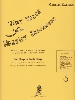 Tiny Tales for Harpist Beginners - First Series - Carlos Salzedo