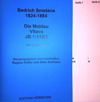 Die Moldau Vltava - Harp Duo - Bedrich Smetana
