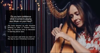 A Jazzy Christmas Harp Day with Amanda Whiting