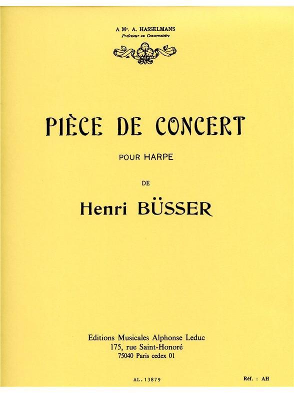 Piece de Concert - Henri Busser