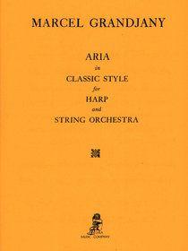 Aria in a Classical Style - Score - Grandjany