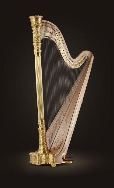 Premium Pedal Harps