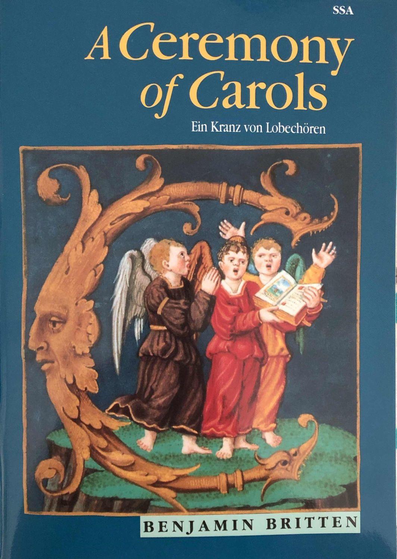 A Ceremony of Carols - Benjamin Britten - Score