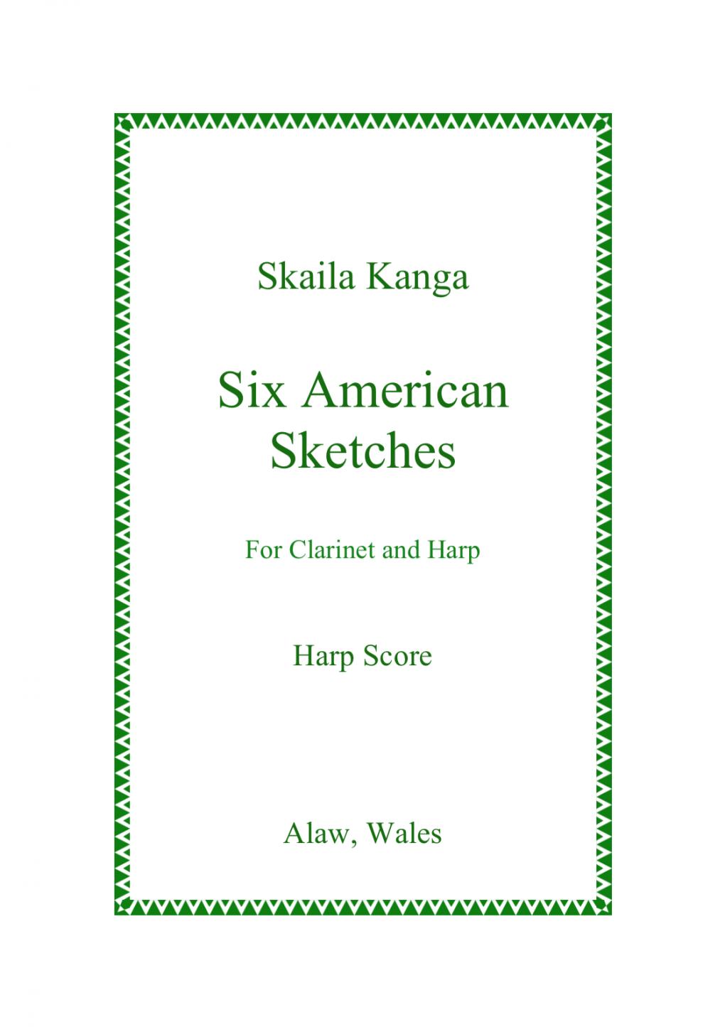 Six American Sketches - Skaila Kanga