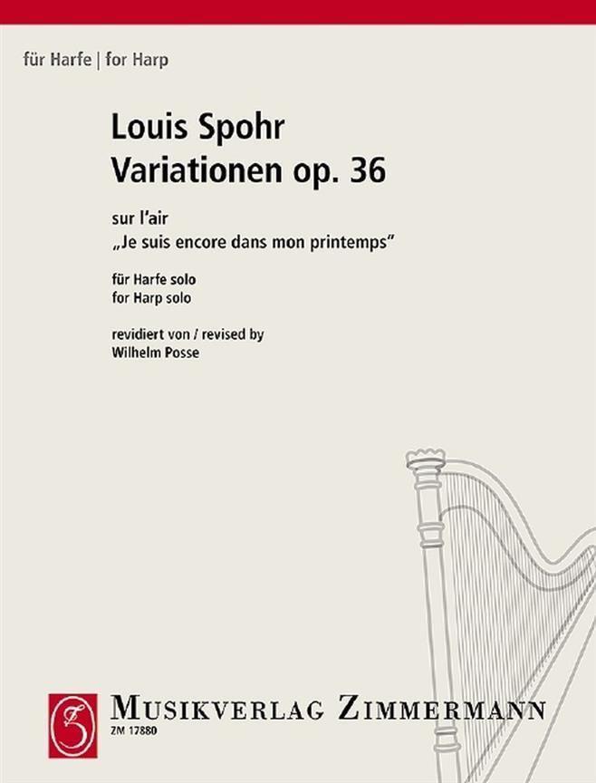 Variations Op. 36 - Je suis encore dans mon printemps - Louis Spohr