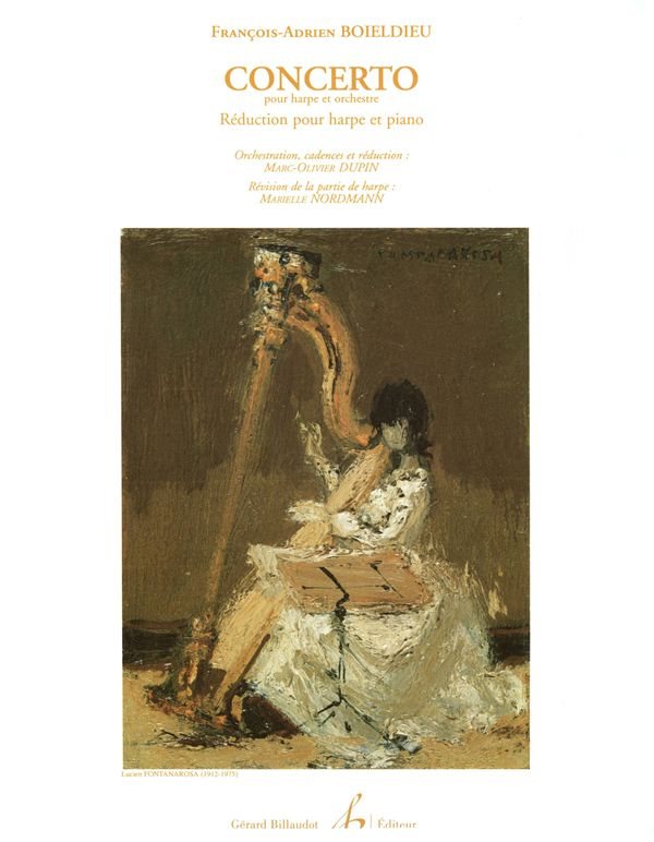 Concerto Harp & Orchestra - F. A Boieldieu - Reduction Edited by Marielle N