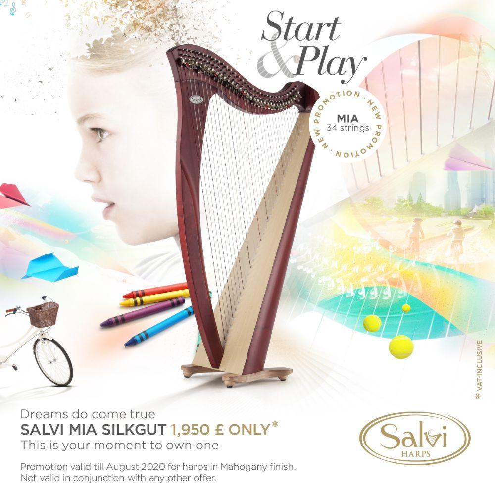 Start & Play Harps