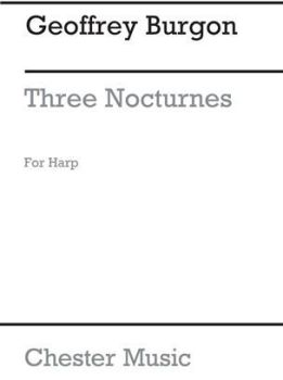 Three Nocturnes for Harp - Geoffrey Burgon