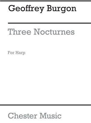 Three Nocturnes for Harp - Geoffrey Burgon
