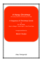A Harpy Christmas - A Sequence of Christmas Carols for Two Lever Harps